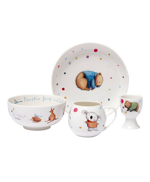 Barney Gumnut & Friends Kids China Set