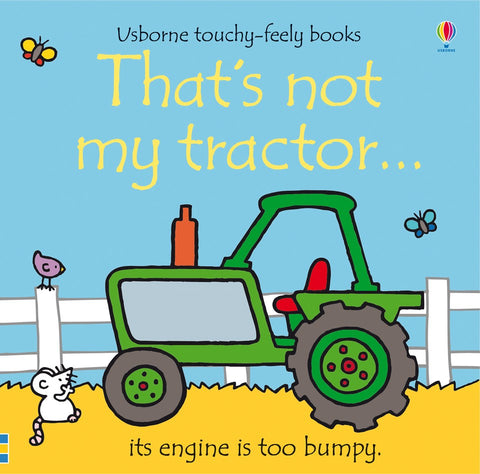 That's Not My Tractor Touch and Feel Book