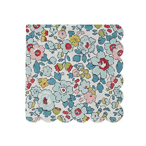 Liberty Powder Blue Napkins Small