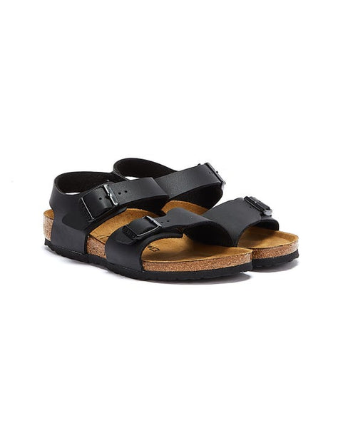 Birkenstock New York Kids Black NARROW