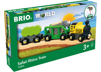 Brio Safari Train Rhino