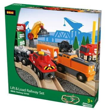 Brio Lift and Load Railway Set