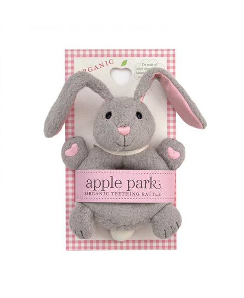 Apple Park Bunny Soft Rattle