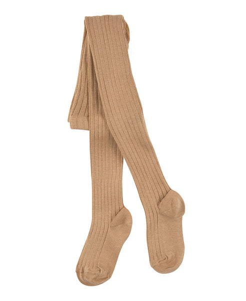 Condor Ribbed Tights (#326 Camel)
