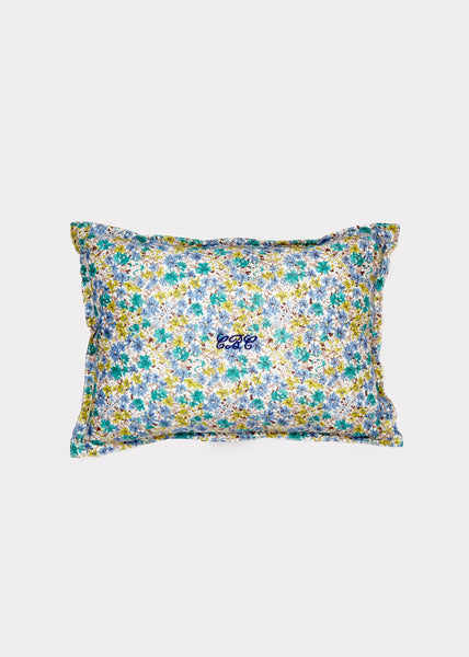 Caramel Home Scatter Cushion. Painted Flower: 100% Cotton