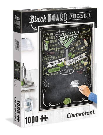Clementoni Cheers Blackboard Jigsaw Puzzle 1000pc