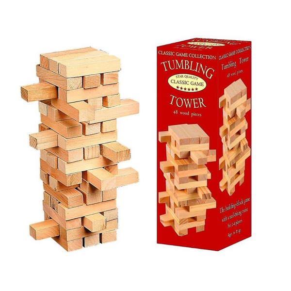 Classic Game Tumbling Tower