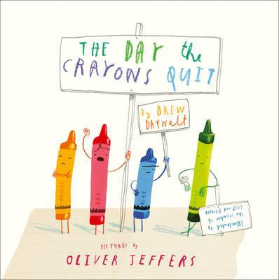The Day the Crayons Quit - Book