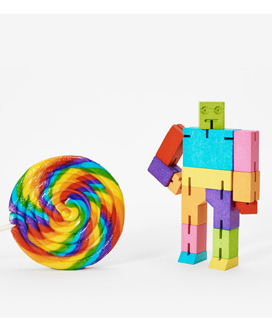 Cubebot Small - Multi Colour