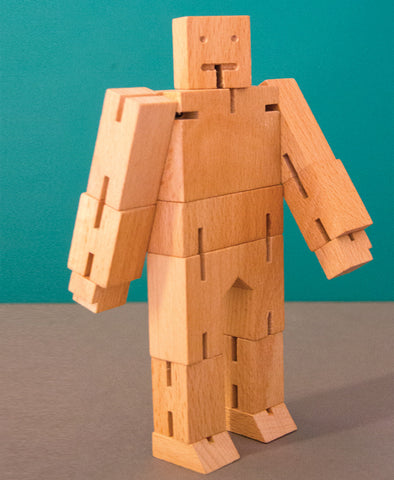 Cubebot Small - Natural