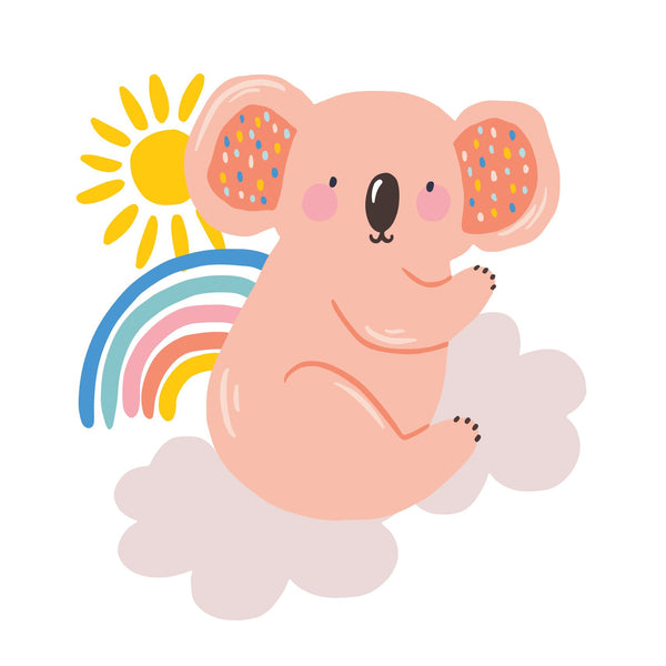 Christie Williams Cute Rainbow Koala Card