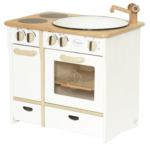 Drewart Cooker & Sink Combo White