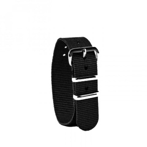 EasyRead Time Teacher Replacement Watch Strap: Black