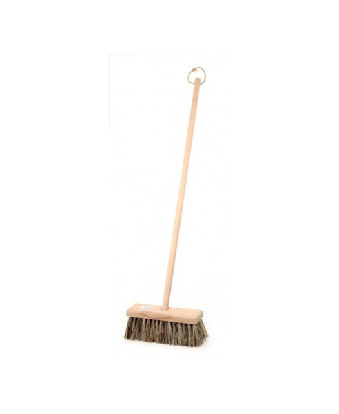Egmont Wooden Broom 80cm Hard