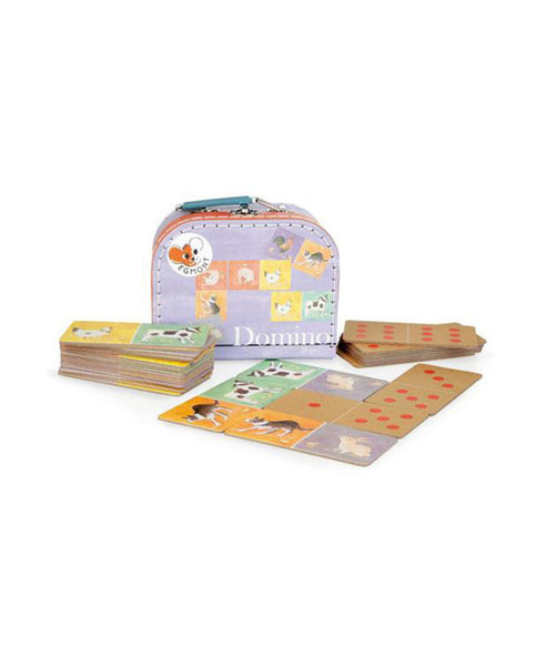 Egmont Domino Game - Farmyard