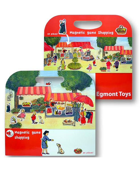 Egmont Magnetic Game - Shopping