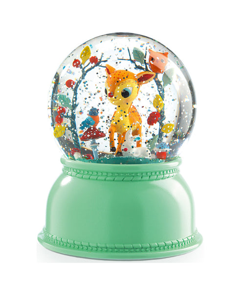 Little Big Room Djeco Fawn Night Light Snow Dome