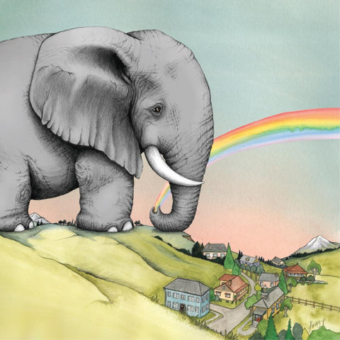 Lalaland The Rainbow Maker Greeting Card