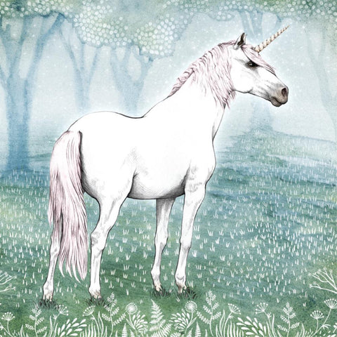 Lalaland Unicorn Greeting Card