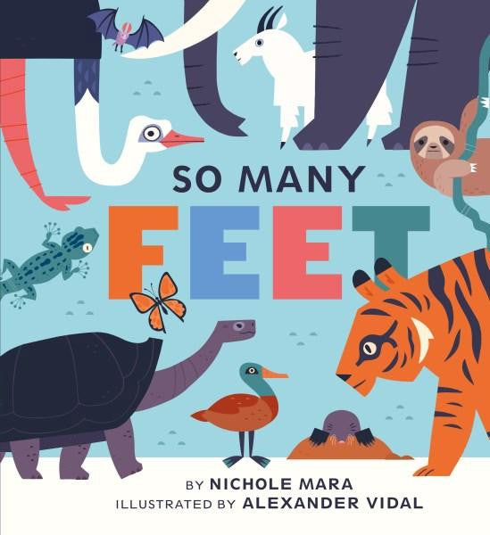 So Many Feet Book