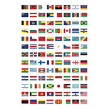 Poppik Discovery Stickers - Flags of the World