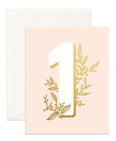 Fox & Fallow No 1 Floral Card