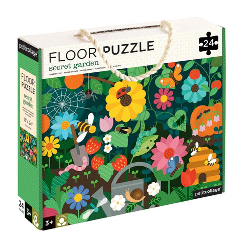 Petit Collage Secret Garden Floor Jigsaw Puzzle