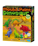 Mould & Paint Dinosaur - Glow in the Dark