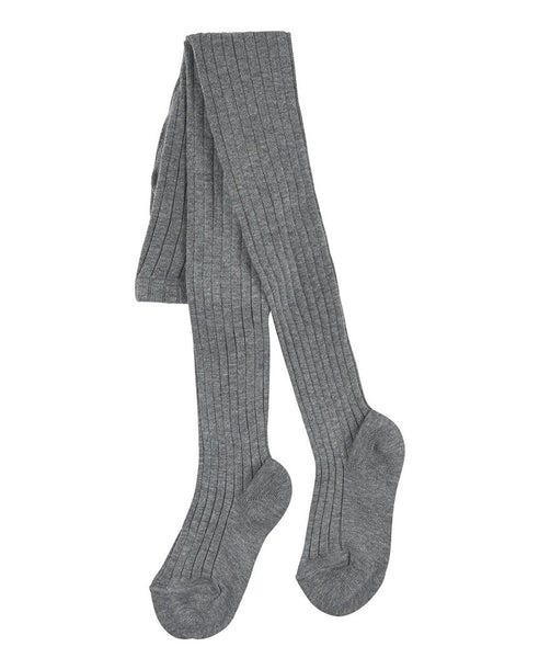 Condor Ribbed Tights (#221 Alumino Grey)