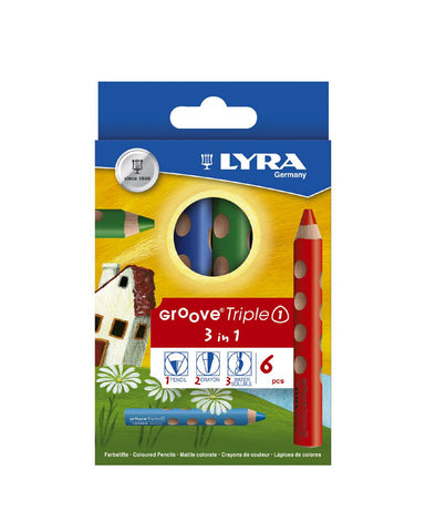 Lyra Groove Triple One - Box of 6