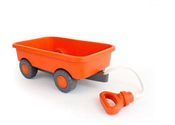 Green Toys Red Wagon