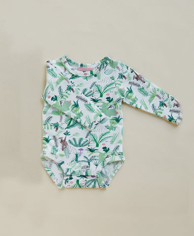Halcyon NIghts Long Sleeve Bodysuit