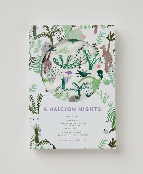 Halcyon NIghts Wrap - Fern Gully