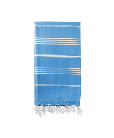 Hammamas Original Turkish Beach Towel - Aqua