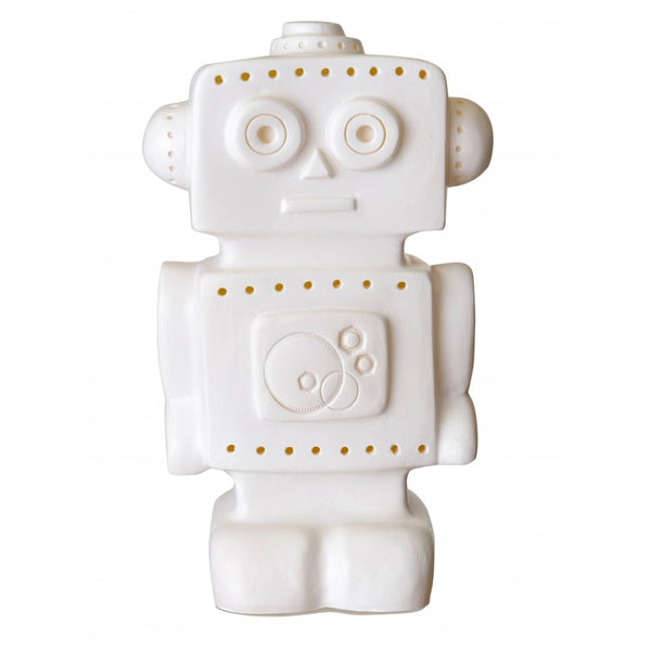 Heico Robot Night Light Lamp - White LED