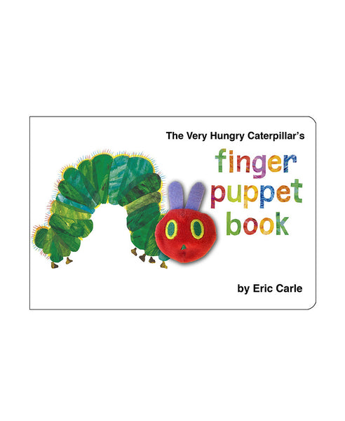 The Very Hungry Caterpillar Finger Puppet (Board book) - Eric Carle