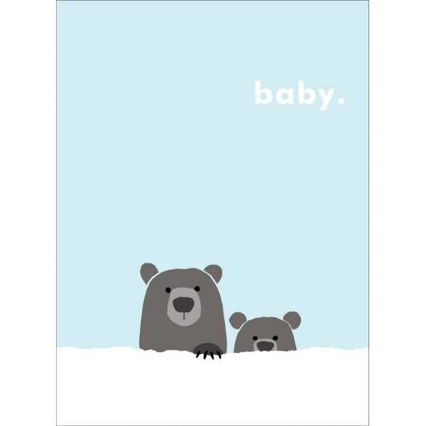 Carolyn Suzuki Grizzly Bear Card