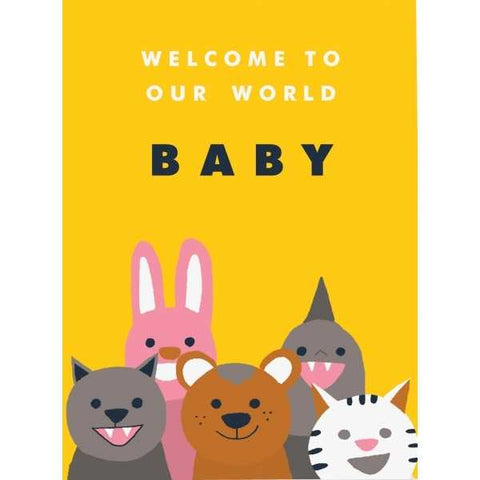 Carolyn Suzuki Welcome Committee Card