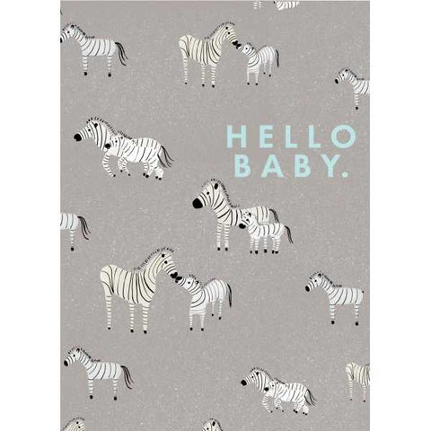 Carolyn Suzuki Zebra Moments Card