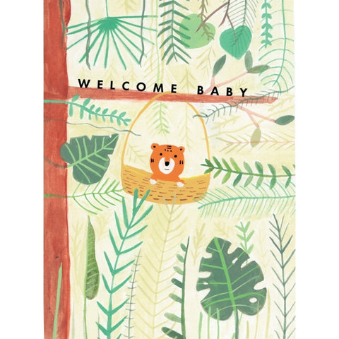 Carolyn Suzuki Tiger Baby Card