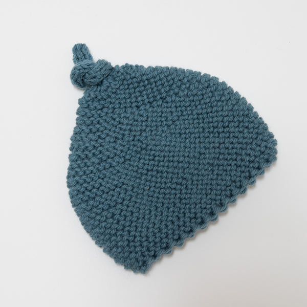 Knitted by Nana Beanie: Lake 3-9M