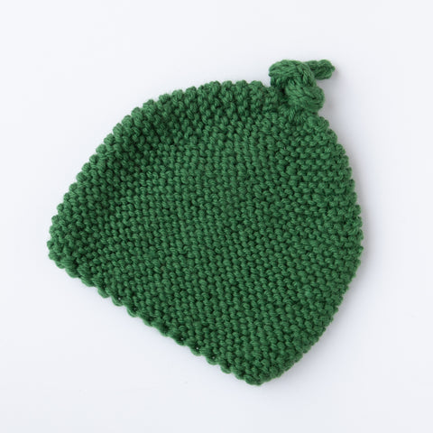Knitted by Nana Beanie: Clover 3-9M