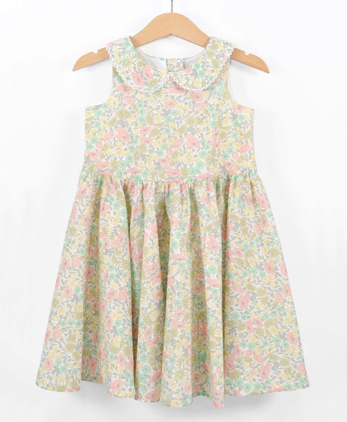 Pretty Wild Maria Dress Daisy Lime