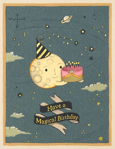 Joojoo Paper Foil Card Mooncake Birthday