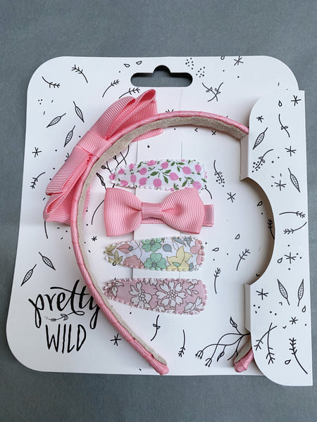 Pretty Wild Rosie with Polly Snaps Set: Pink