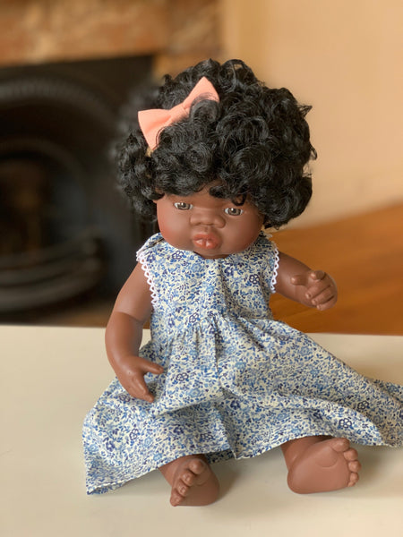 Pretty Wild Jessie Dolls Dress Blueberry
