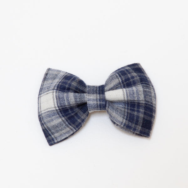 Pretty Wild Georgie Single Bow Clip Klara Check