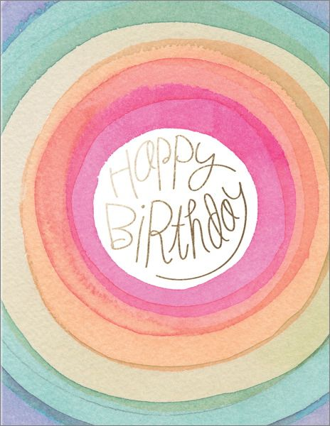 E Francis Happy Days Birthday Card
