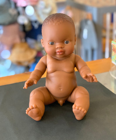 Paola Reina Gordis African Baby Boy Doll: Theo