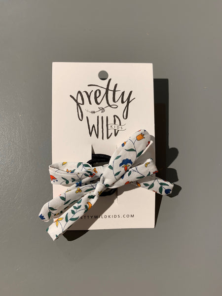 Pretty Wild Annette Twin Hair Elastic - Summer Vines
